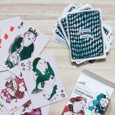 Playing cards by Sara Forsberg for Søstrene Grene