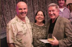 """""""Life of a Party"""": Farewell bash for Harvey Owen of The Ware Center (July 2014 issue; photo by Nick Gould)"""