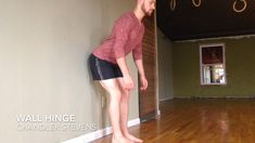 Exercise Wall Hinge - Why do the same old hip stretches if you aren't making progress? Fitness Workouts, Hip Workout, Yoga Fitness, At Home Workouts, Fitness Tips, Health Fitness, Fitness Games, Band Workouts, Fitness Outfits