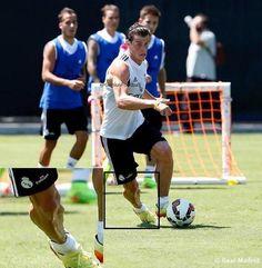 Le mollet impressionnant de Gareth Bale - http://www.actusports.fr/113627/mollet-impressionnant-gareth-bale/