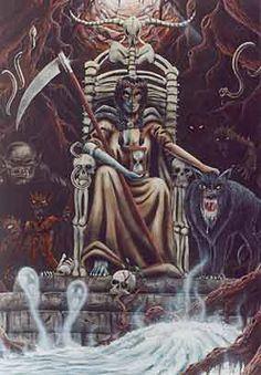 Hel Norse Goddess