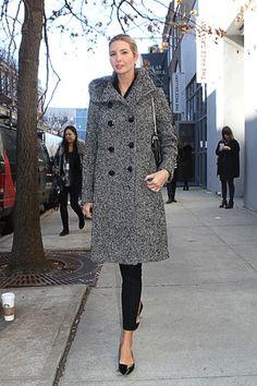 Ivanka Trump (Kushner) at New York Fashion Week!