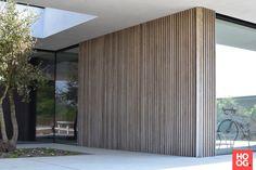 Wood Cladding Exterior, Larch Cladding, Wood Facade, Brighton Houses, Timber Buildings, Facade House, Modern Exterior, Minimalist Home, Modern House Design