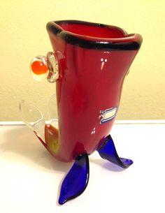 33 Best Mcm Fish Not Blenko Or Rainbow Glass Ideas Rainbow Glass Glass Fish
