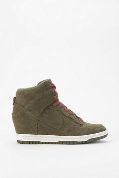 Nike Tonal Dunk High-Top Wedge-Sneaker