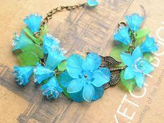 Customer's Jewelry Show—Vintage Style Bracelet with Acrylic Beads | PandaHall Beads Jewelry Blog
