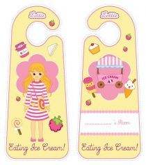 Printable Door Hangers|Lottie Printable Activities For Kids, Free Activities, Free Printables, Steam Toys, Raspberry Ripple, Door Signs, Toys For Girls, Coloring Pages For Kids, Doll Accessories