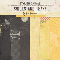 Smiles And Tears | Papers :: Lydia Designs :: Shop by Designer :: Memory Scraps