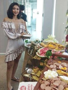 IG post Feb 27 2019 LusterPopUpStore after party Nadine Lustre, Ig Post, White Dress, Party, Dresses, Fashion, Vestidos, Moda, Fashion Styles