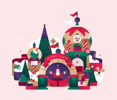 """Check out this @Behance project: """"STC - Christmas campaign illustrations"""" https://www.behance.net/gallery/34663233/STC-Christmas-campaign-illustrations"""