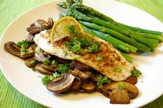 Tilapia with cumin and mushrooms by paige_eliz, via Flickr