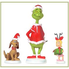 Grinch Max And Cindy-Lou Who $18.00
