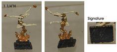 Neil Carter, IGMA fellow - bronze sculpture