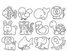 desenho para colorir animais_Pesquisa do Baidu