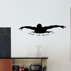 Wall Decal Vinyl Sticker Sport Gym Swimming Swimmer Decor Sb578 ElegantWallDecals http://www.amazon.com/dp/B012088Q64/ref=cm_sw_r_pi_dp_cikYvb1ZZH1VN