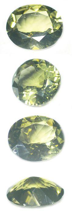 Kornerupine 168167: 3.90 Ct Loose 100%Natural Oval Cut Medium Green Konerupine Gemstone Ceylon-15823 -> BUY IT NOW ONLY: $161.5 on eBay!