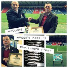 Scotland's pioneer of football