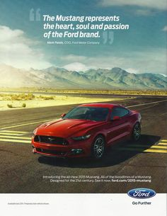 2015 Ford Mustang Ad