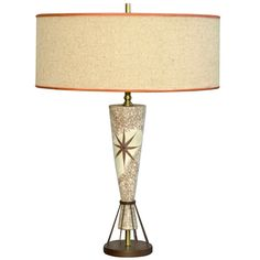 vintage mid century table lamp marc bellaire style rembrandt - Modern Table Lamp
