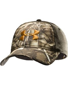 Under Armour Men's Camo 2 Tone Stretch Cap  http://www.countryoutfitter.com/products/47826-mens-camo-2-tone-stretch-cap