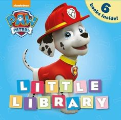 """""""Cute small box format containing 6 board books. Bright bold character artwork featuring all your favourite PAW Patrol pups plus the newest pup Everest. Paw Patrol Books, Paw Patrol Pups, Little Library, Famous Books, 4th Birthday Parties, Small Boxes, Childrens Books, Teamwork, Cute"""