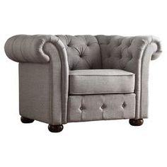 Frances Tufted Arm Chair