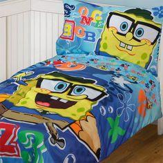 Spongebob Adventure Comforter Set Size Full 7 Piece Reversible Ebay Spongebob Pinterest Feelings Toddler Bed And The Wall