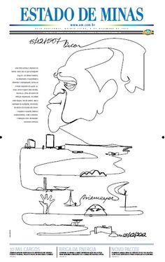 Primeira página - jornal O Estado de Minas