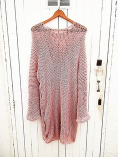 OverSized Sweater Round Neck Top Long Sleeved by armarioenruinas