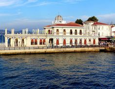 ღღ Istanbul, Büyükada  ~~~ Büyükada is the largest of the nine so-called Princes' Islands in the Sea of Marmara, near Istanbul, with an area of about 2 square miles. It is officially a neighbourhood in the Adalar district of Istanbul Province, Turkey. Wikipedia
