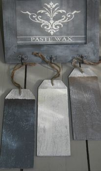 Painting the Past - paste wax colors