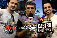 SANA 2016 - JOGATINA NOS STANDS COM OS IRMÃOS CASTRO BROTHERS - NERD RET...