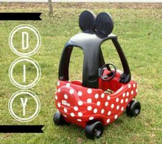 Change the cozy coupe for Alaina!
