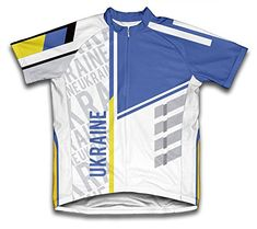 Ukraine ScudoPro Short Sleeve Cycling Jersey for Men  Size XL -- Read more reviews of the product by visiting the link on the image.Note:It is affiliate link to Amazon. #instago