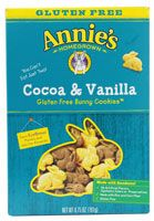 Annie's Homegrown Bunny Cookies Gluten Free Cocoa and Vanilla | These are awesome! My son loves them and I think they taste just like the non-GF Annie's cookies.