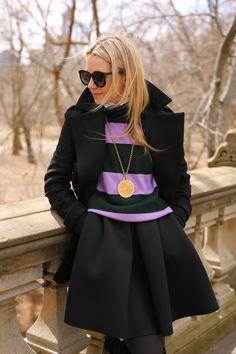 Street Chic, Street Style, Street Smart, Blair Eadie, Atlantic Pacific, Fashion Sites, Fashion Trends, On Repeat, Back To Black