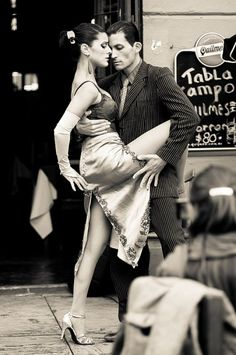 Argentina, Buenos Aires Street Tango by Chigirev Portrait Photography
