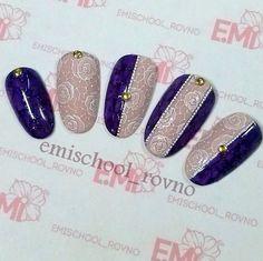 Beautiful Nail Designs, Beautiful Nail Art, Gorgeous Nails, Lace Nails, Bling Nails, Pedicure Designs, Nail Art Designs, Nail Art Wheel, Vintage Nails