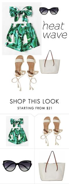 """Untitled #2399"" by nadia-n-pow on Polyvore featuring WithChic, Hollister Co., La Perla and heatwave"