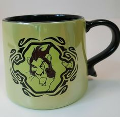 The Lion King Scar Green Coffee Mug from the Disney Store NEW | eBay