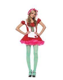 Strawberry Tween Girl's Costume