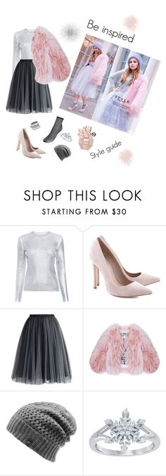 """""""Tull & Fur"""" by anna-mcv ❤ liked on Polyvore featuring Carven, Schutz, Chicwish, Florence Bridge, The North Face, Disney and Henri Bendel"""