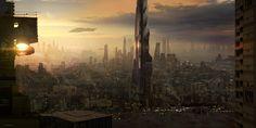 ArtStation - AE Admah City, Gabriel Perez