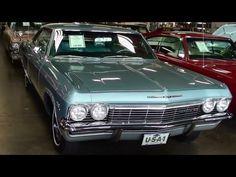 1965 Chevrolet Impala SS 396 Big-block V8 Fast Lane Classic Cars - YouTube