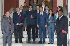 cool Ernesto Samper y Leonel Fernández se reúnen con Nicolás Maduro