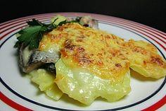 Kartoffel-Matjes-Gratin à la Gabi, ein tolles Rezept aus der Kategorie Auflauf. Bewertungen: 2. Durchschnitt: Ø 3,8.