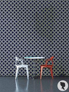 Art Deco Pattern Peel and Stick Diamond Pattern by Livettes