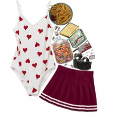 """Eat pizza at 7 am"" by taylor22116 on Polyvore"