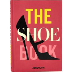 Assouline The Shoe Book ($28) ❤ liked on Polyvore featuring red