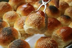 NYT Cooking: Getting supper on the table quickly makes you feel efficient. Baking a batch of soft dinner rolls makes you feel cozily competent. This may be an unfashionable virtue, but it is also a deeply satisfying one. Bread Recipes, Cooking Recipes, Ham Recipes, Baked Rolls, Dinner Rolls Recipe, Monkey Bread, Instant Yeast, Baking Tips, Bread Baking